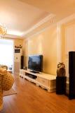 Interior caro luxuoso da sala de visitas Fotografia de Stock
