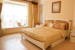 Interior caro luxuoso do quarto Imagem de Stock