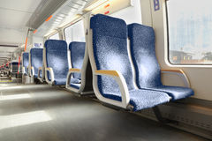 Interior of carriage Stock Image