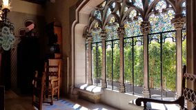 The interior of Casa Amatller in Barcelona, Catalonial, Spain royalty free stock photography