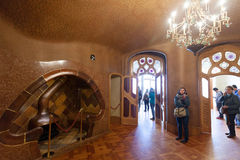 Interior of Casa Batllo Royalty Free Stock Photos