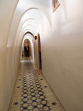 Interior of Casa Batllo. Barcelona, Spain - December 2011 : Casa Batllo interior with vaults Stock Photos