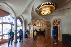 Interior of Casa Batllo Stock Images