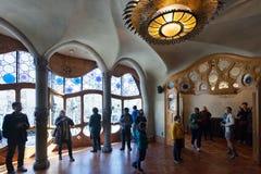 Interior of Casa Batllo Royalty Free Stock Photos
