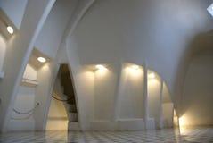 Interior of Casa Battlo. Tile Detail Casa Battlo, Barcelona, Spain Royalty Free Stock Photos