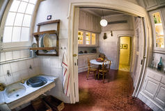 Interior of Casa Mila - house designed by Antoni Gaudi in Barcel Royalty Free Stock Photography