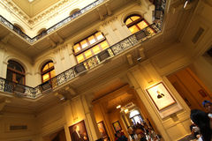 Interior of the Casa Rosada. On March 18, 2012 in Buenos Aires, Argentina. It is the office of the President of Argentina and one of the most emblematic Royalty Free Stock Photography