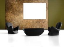Interior casero 3D imágenes de archivo libres de regalías