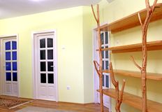Interior casero fotografía de archivo