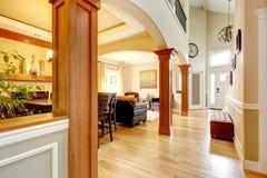 Interior casero de lujo. Fotografía de archivo libre de regalías
