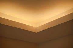 Interior casero - decoración de las luces Imagenes de archivo