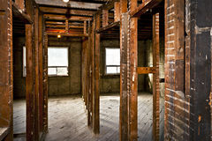 Interior casero destripado para la renovación Imagen de archivo libre de regalías