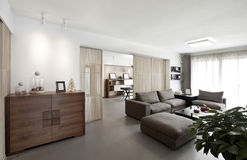Interior casero elegante y cómodo imágenes de archivo libres de regalías