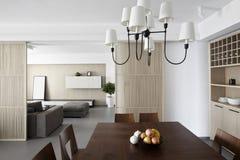 Interior casero elegante y cómodo fotos de archivo libres de regalías