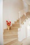 Interior casero - escaleras Foto de archivo libre de regalías