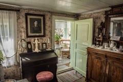 Interior casero, Goteborg, Suecia Imagen de archivo libre de regalías