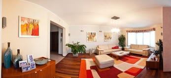 Interior casero moderno Foto de archivo libre de regalías