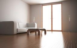 Interior casero moderno Imagen de archivo libre de regalías