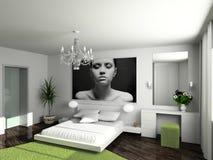 Interior casero moderno imagenes de archivo