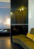 Interior casero moderno   Fotos de archivo