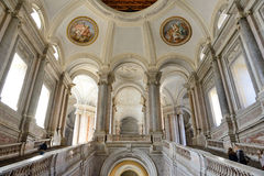 Interior of caserta palace Στοκ Εικόνες