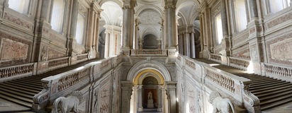 Interior of caserta palace Royalty Free Stock Images