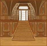 Interior of castle. Interior of the ballroom of magic castle Royalty Free Stock Photography