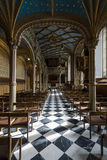 Interior of castle church of the Old Castle Royalty Free Stock Photo