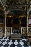 Interior of castle church of the Old Castle Royalty Free Stock Image