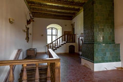 Interior of Castle in Mir (Belarus). Stock Photography