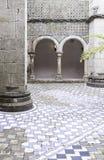 Interior of a castle in Sintra Stock Photos