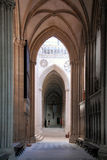 Interior a catedral de nossa senhora de Chartres Fotografia de Stock