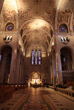 Interior of cathedral Royalty Free Stock Images