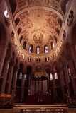 Interior of Cathedral Royalty Free Stock Photo