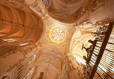 Interior of the cathedral Royalty Free Stock Photo