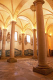 Interior of the cathedral Royalty Free Stock Photography