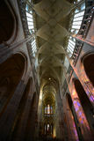 The interior of the cathedral Royalty Free Stock Photo