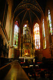 Interior of cathedral Royalty Free Stock Photos