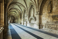 Interior of Cathedral in Burgos, Spain Stock Photo