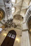 Interior of Cathedral in Burgos, Spain Royalty Free Stock Photo