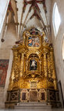 Interior of Cathedral in Burgos, Spain Stock Images