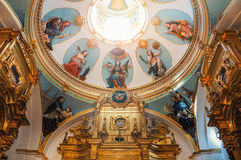 Interior of Cathedral in burgos Royalty Free Stock Photos