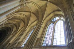 Interior of cathedral Royalty Free Stock Photography