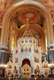 Interior of the Cathedral of Christ the Savior. Moscow. 12.07.20 Stock Image