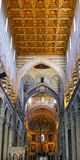 Interior of cathedral Duomo in Pisa, Italy Royalty Free Stock Photography