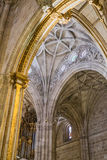 Interior in Cathedral of the Encarnacion Royalty Free Stock Photography