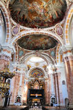 Interior of the Cathedral of Innsbruck Royalty Free Stock Photos