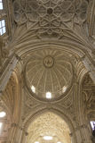Interior Cathedral-mosque of Cordoba Royalty Free Stock Photos