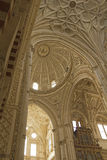 Interior Cathedral-mosque of Cordoba Stock Photography