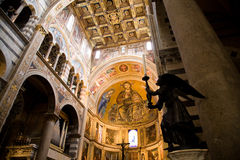 Interior cathedral Pisa Royalty Free Stock Images